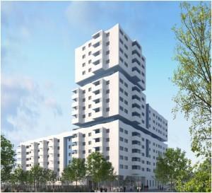 Eco Quartier Euromed II 34 appartements en Nue Propriété