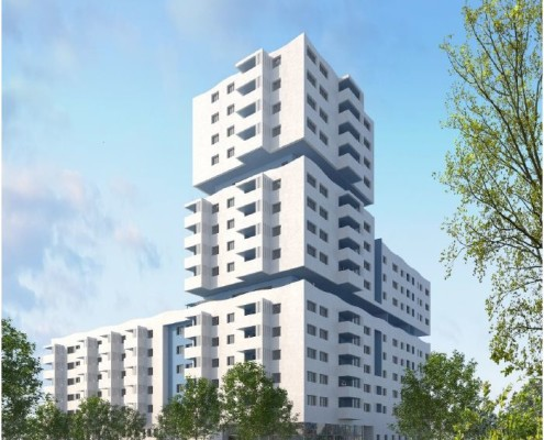 Eco Quartier Euromed II 34 appartements en Nue Propriété