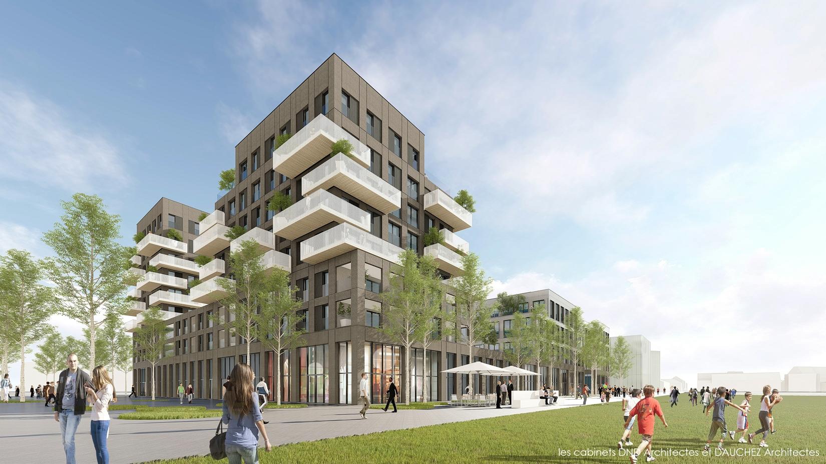 """Cabinet D Architecte Caen nue-propriété sur caen (14) """"le 360"""" - patrimoine en ligne"""